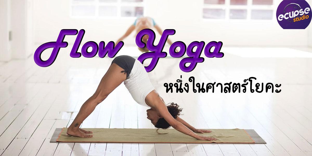 โยคะ โฟลว์ ( Flow Yoga ) หนึ่งในศาสตร์ โยคะ